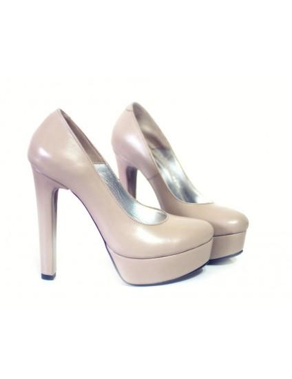 Pantofi piele naturala Lara - orice culoare