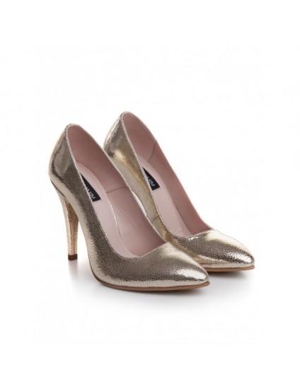 Pantofi Dama Sparkle Auriu - pe stoc