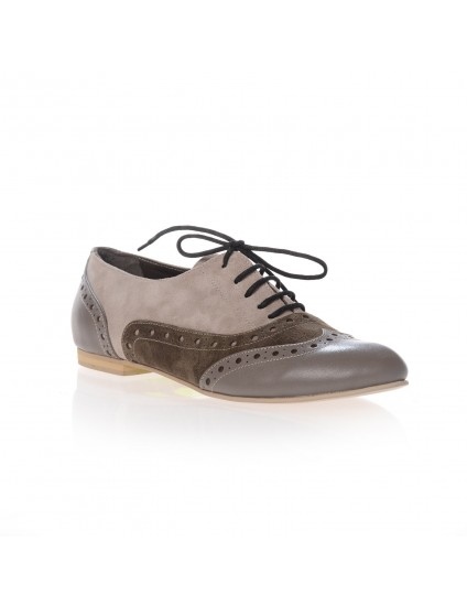 Pantofi Oxford piele naturala I4 -pe stoc