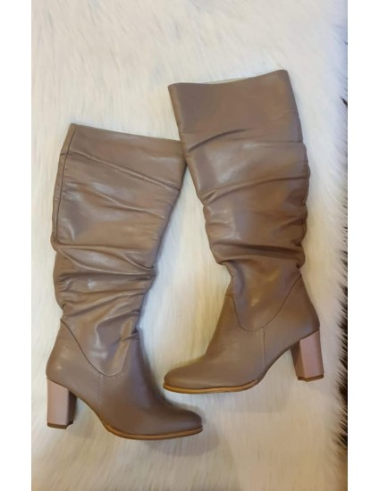 Cizme Piele naturala cappucino Daily V20 -pe stoc