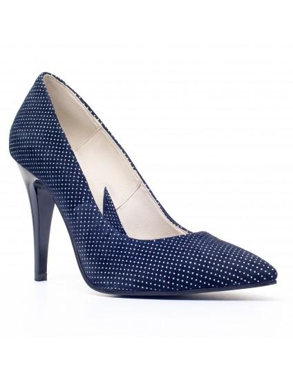 Pantofi Stiletto Piele V7 Buline  - orice culoare