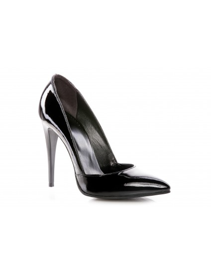 Pantofi Stiletto I1 piele argintiu - pe stoc