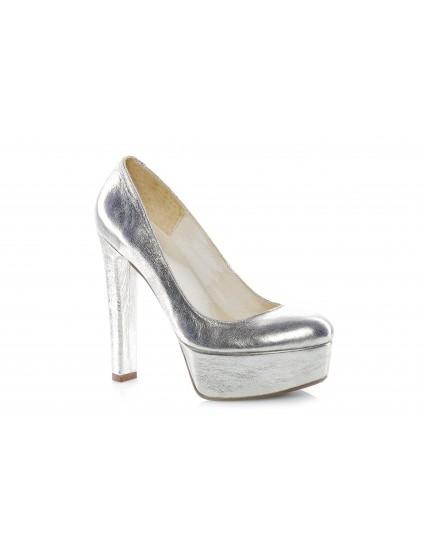 Pantofi Clara Auriu piele naturala - orice culoare