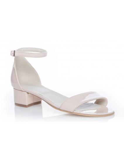 Sandale Dama piele naturala P1 nude - orice culoare