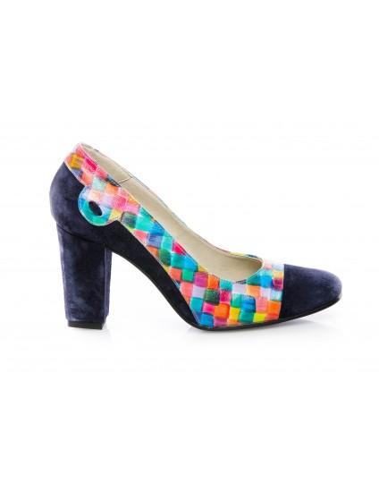 Pantofi dama piele Office 1 Multicolor - disponibili pe orice culoare