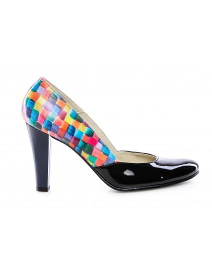 Pantofi dama piele V5 Multicolor - disponibili pe orice culoare