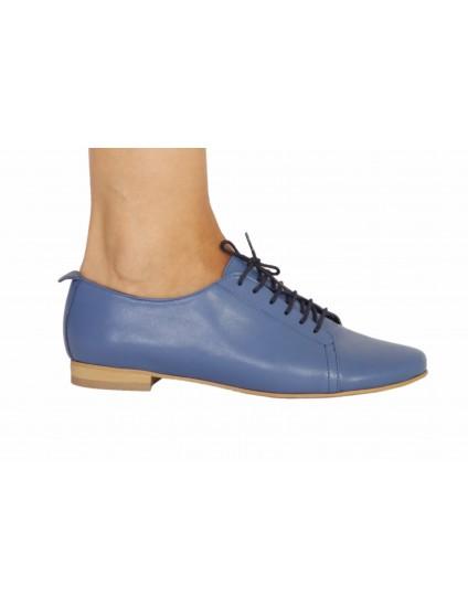 Pantofi Oxford 5 piele naturala visiniu - pe stoc