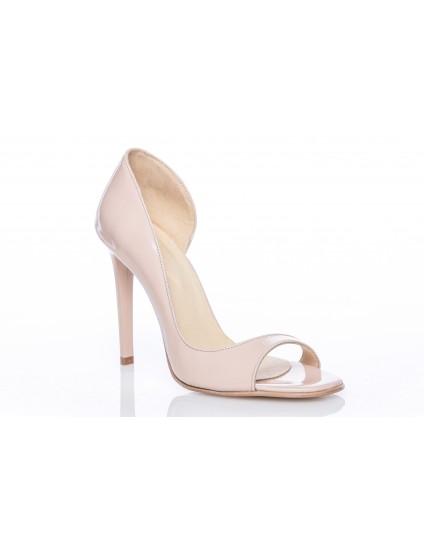 Pantofi Piele Lara Decupat Nude - orice culoare