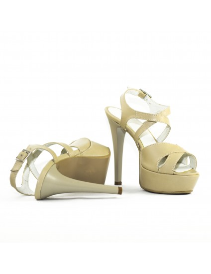 Sandale Modern 1 Nude, Piele Naturala - disponibile pe orice culoare