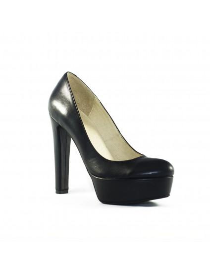 Pantofi Clara Negru piele naturala- disponibili pe orice culoare
