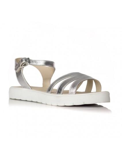 Sandale dama piele argintiu Clarice V1 - orice culoare