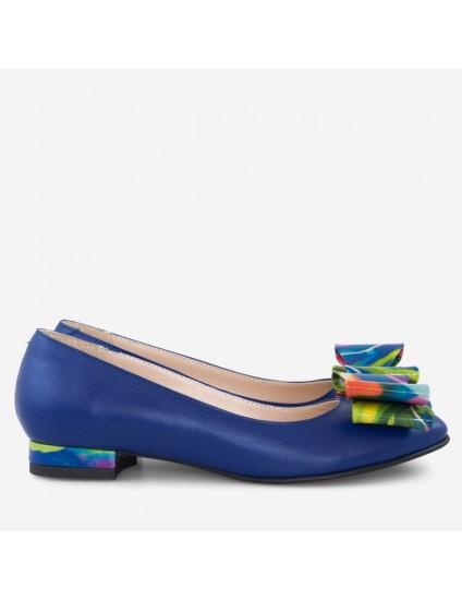 Balerinipiele albastru funda color Diane D20 - orice culoare