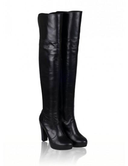 Cizme dama piele peste genunchi Claudine N6 - orice culoare