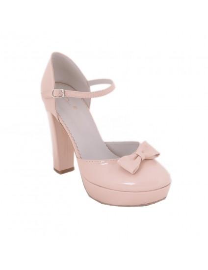 Pantofi Diva Chic Funda  Nude piele naturala,orice culoare