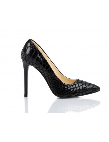 Pantofi Stiletto Very Chic Croco - disponibili pe orice culoare