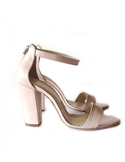 Sandale din Piele Naturala Stylish Roz pal