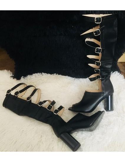 Sandale Gladiator negruC18 - pe stoc