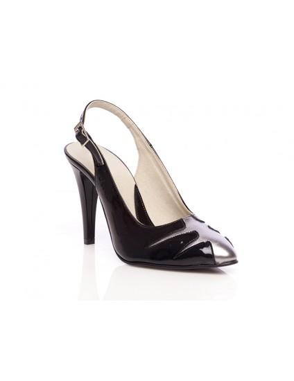 Pantofi piele Elegant Combi Decupat1 - orice culoare
