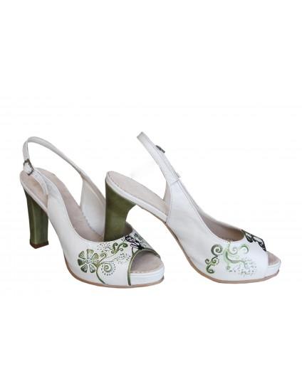 Sandale pictate manual P10 - Orice culoare