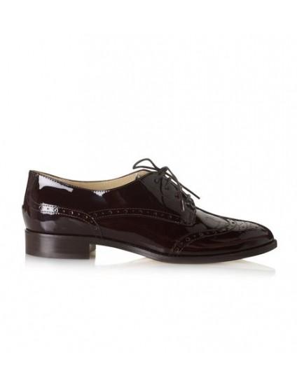 Pantofi Oxford  piele lacuita V2- orice culoare