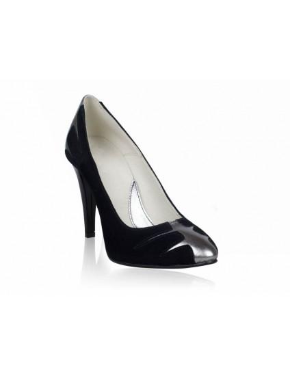 Pantofi dama piele Elegant Combi - orice culoare
