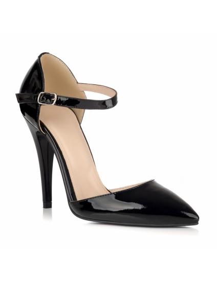 Pantofi Piele Lacuia Negru Sofia L26 - orice culoare