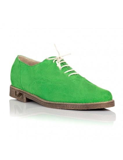 Pantofi Dama Talpa Joasa Piele Verde C11 - orice culoare