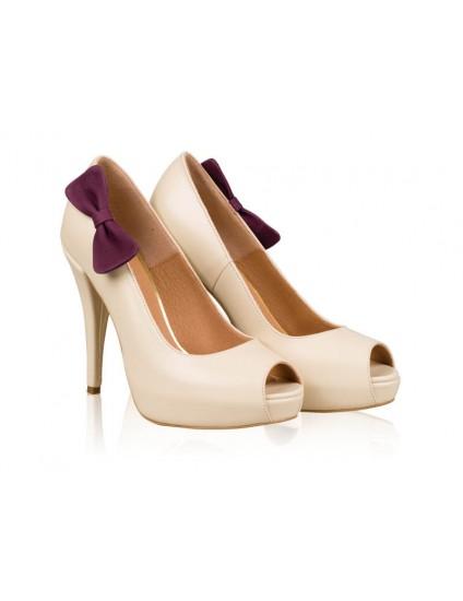 Pantofi mireasa N11 Purple Dream - orice culoare
