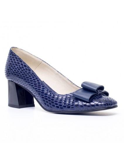 Pantofi Piele Bleumarin Office Chic - disponibili pe orice culoare