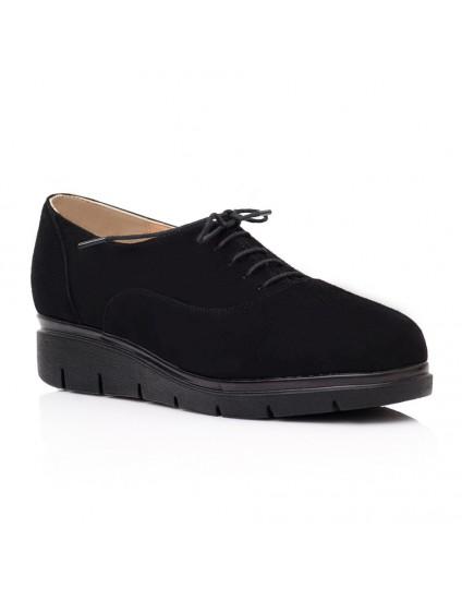 Produse noi previzualizare a magazine populare Pantofi Oxford piele intoarsa negru