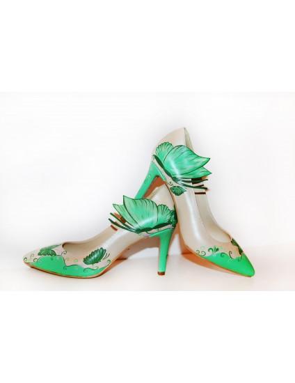 Pantofi Pictati P157 - pe stoc