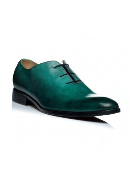 Pantofi piele turcoaz barbati C9 pe stoc