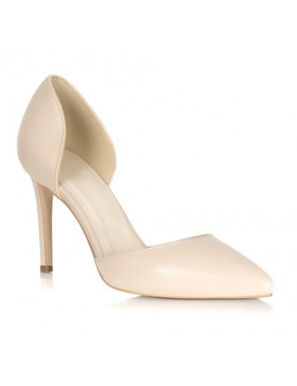 Pantofi Stiletto Lac Nude Lolita L35 - orice culoare
