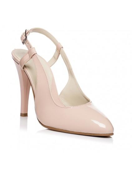 Pantofi Stiletto decupat Box Nude V5  - orice culoare