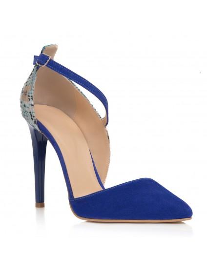 Pantofi Stiletto Albastru Clara C14 - orice culoare