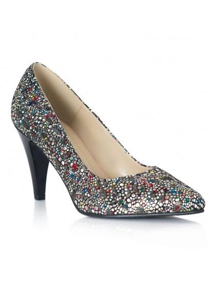Pantofi Stiletto Toc Mic Color Raisa V58 - orice culoare