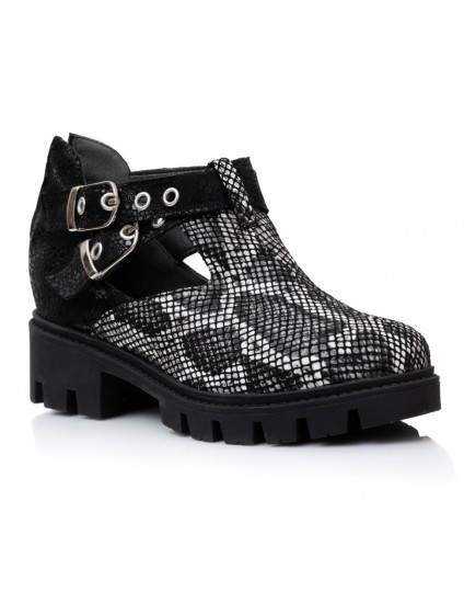 Pantofi Piele Snake Talpa Bocanc Aida V15   - orice culoare