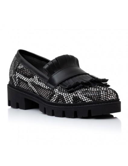 Pantofi Piele Snake Talpa Bocanc Anda V14   - orice culoare