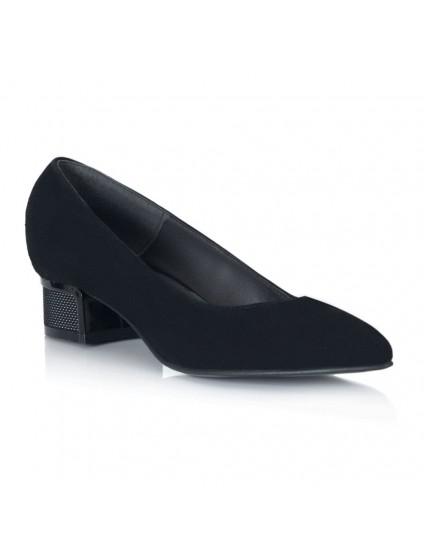 Pantoful Piele Negru Toc Mic Irene V54 - orice culoare