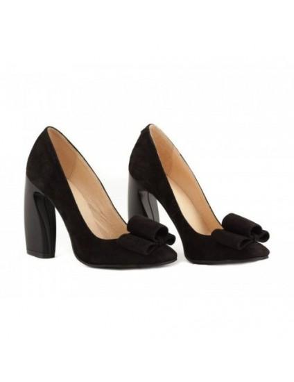 Pantofi piele Chic Madame Crook Negri - disponibili pe orice culoare