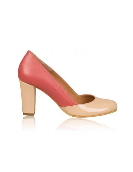 Pantofi dama piele Retro N2 - orice culoare
