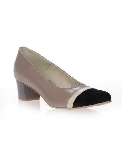 Pantofi piele naturala Office Clasic 1 , disponibili pe orice culoare