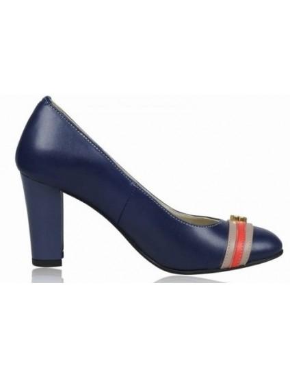 Pantofi dama piele Bleumarin V15 - orice culoare