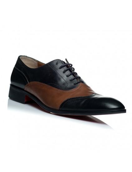 Pantofi piele barbati negru Filip