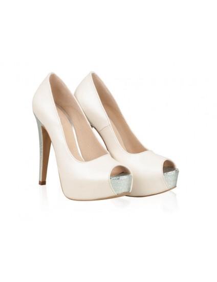 Pantofi Piele Mireasa P42 - orice culoare