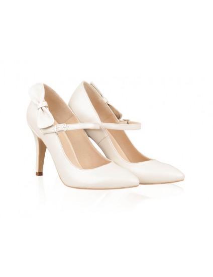 Pantofi Piele Mireasa P47 - orice culoare
