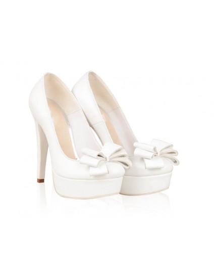 Pantofi Piele Mireasa P48 - orice culoare
