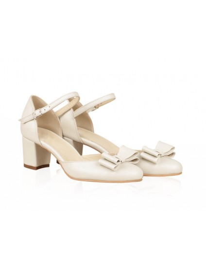 Pantofi Piele Mireasa P53 - orice culoare