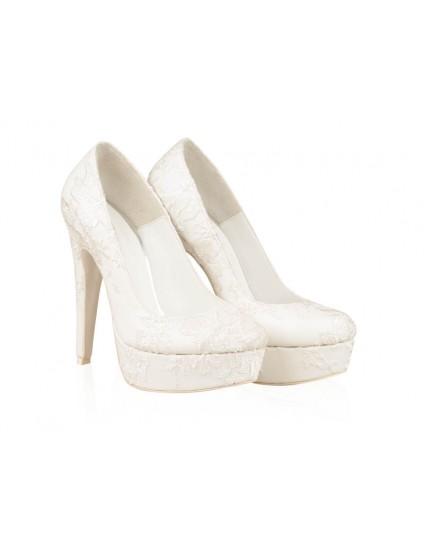 Pantofi Piele Mireasa P54 - orice culoare