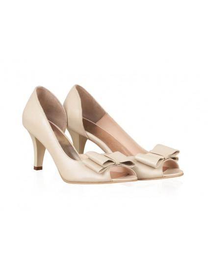 Pantofi Piele Mireasa P62 - orice culoare